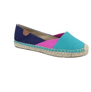 Sperry Katama Cape Slip On Shoes Espadrille 7 teal